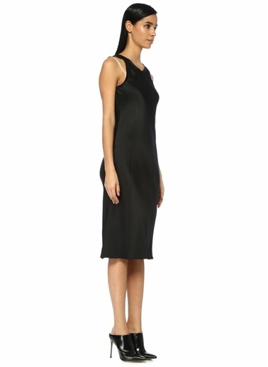 Helmut Lang Elbise Siyah
